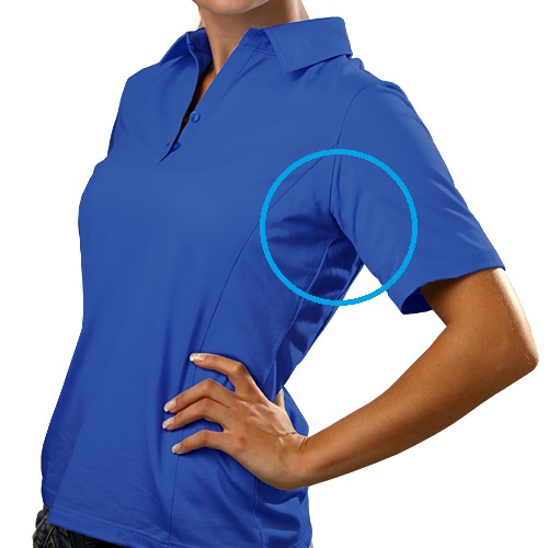 Poloshirt against Hyperhidrosis