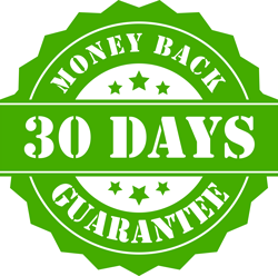 laulas garanties 30 days money back